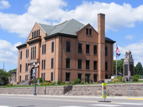 Big Stone County Courthouse, Ortonville Minnesota, 2014