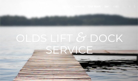 Olds Lift and Dock Service, Outing Minnesota
