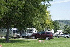 Peterson RV Campground, Peterson Minnesota