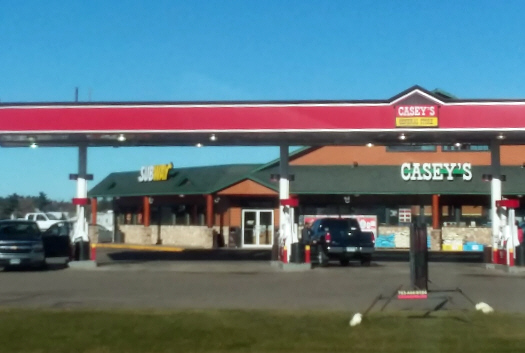 Casey's General Store, Pillager Minnesota
