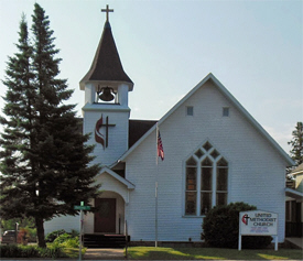United Methodist Church, Pine River Minnesota