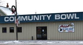 Community Bowling Center, Pine River Minnesota