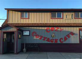 Cozy Cottage Cafe, Pine River Minnesota