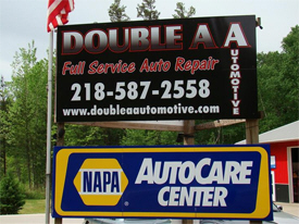 Double A Automotive, Pine River Minnesota