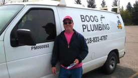 Boog Plumbing and Water Softening, Pine River Minnesota