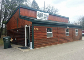 Spike's Barber Shop, Pine River Minnesota