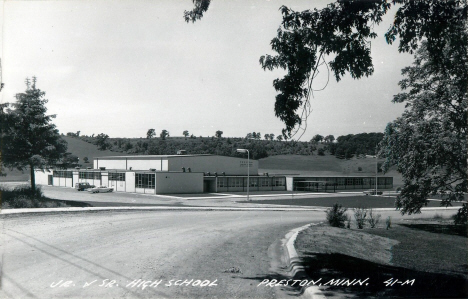 Junior and Senior High School, Preston Minnesota, 1960's