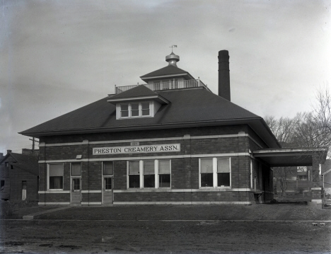 Preston Creamery Association, Preston Minnesota, 1924