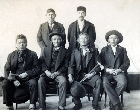 Red Lake Chippewa delegation to Washington, 1899