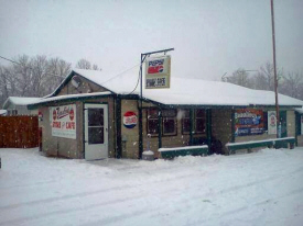 Beaulieu's Gas,Store and Cafe, Red Lake Minnesota