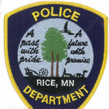 Rice Police Department, Rice Minnesota