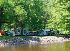 Two Rivers Campground and Tubing, Royalton Minnesota