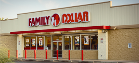 Family Dollar Store in Rushford, MN.