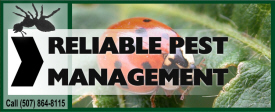 Reliable Pest Management, Rushford Minnesota