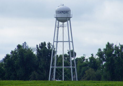 Water tower, Rushmore Minnesota, 2014