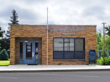 Post Office, Rushmore Minnesota, 2014