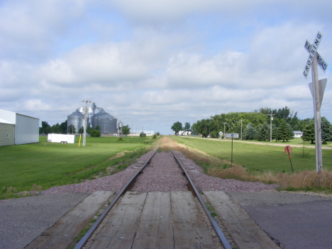 Railroad tracks, Rushmore Minnesota, 2014