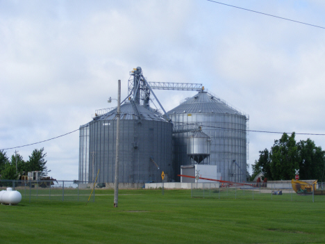 Grain elevators, Rushmore Minnesota, 2014