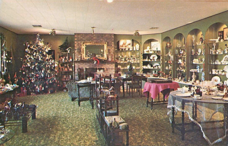 Floral Boutique Gift Shop, Sabin Minnesota, 1970's
