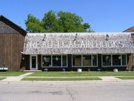 Former book store, now closed, Slayton Minnesota, 2014