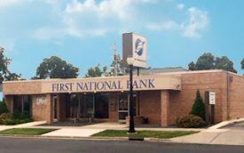 First National Bank, spring valley office