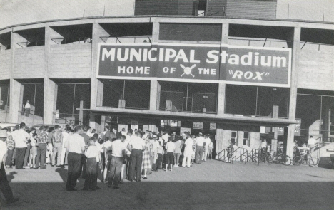 Municipal Stadium, St. Cloud Minnesota, 1950