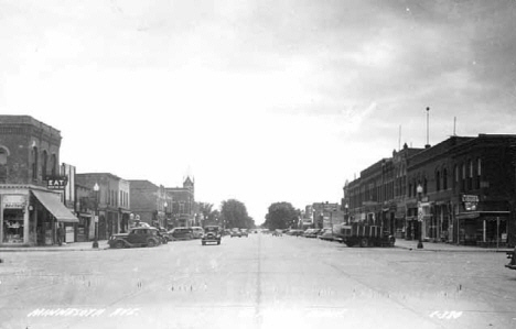 Minnesota Avenue, St. Peter Minnesota, 1935