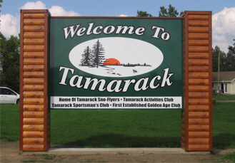 Welcome to Tamarack Minnesota