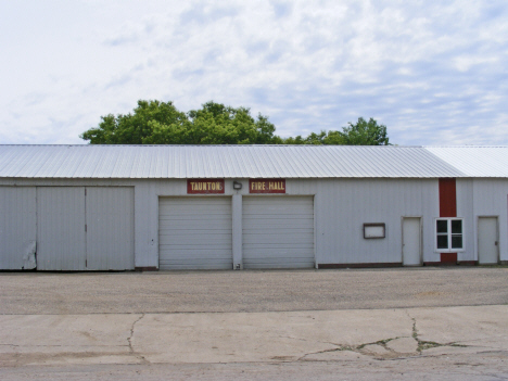 Fire Hall, Taunton Minnesota, 2011