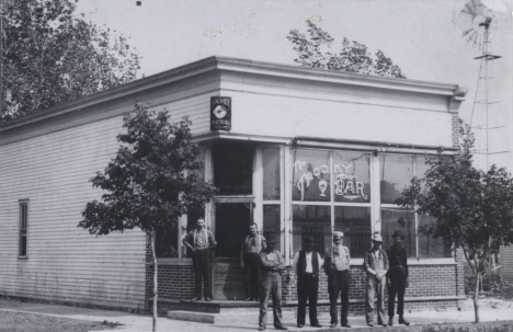 Trosky Bar, Trosky Minnesota, around 1900