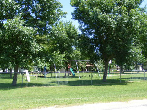 City park, Trosky Minnesota, 2014