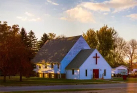 Calgary Lutheran Church, Ulen Minnesota