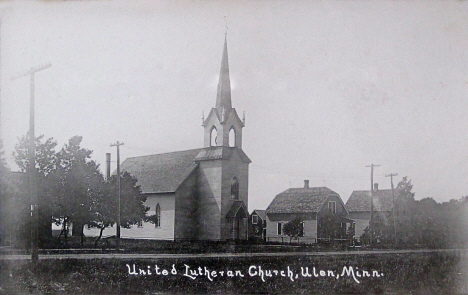 United Lutheran Church, Ulen Minnesota, 1910's