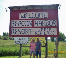 Beacon Harbor Resort, Waskish Minnesota
