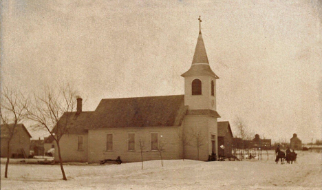 Evangelical Lutheran Church, Westbrook Minnesota, 1909