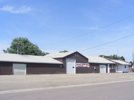 Auto Body Shop, Westbrook Minnesota, 2014