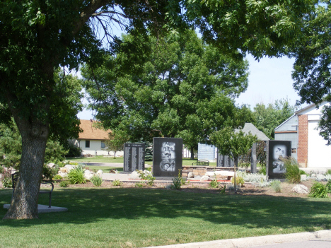 Veterans Memorial, Westbrook Minnesota, 2014