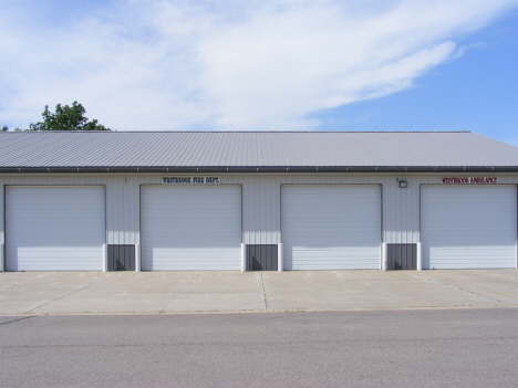 Fire Department and Ambulance Garage, Westbrook Minnesota, 2014