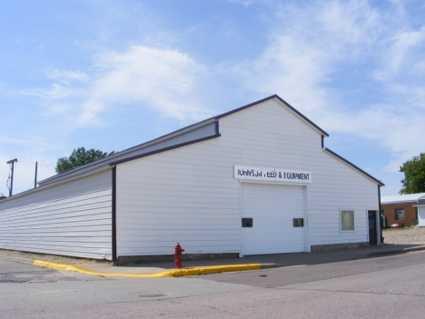 Former Johnson Seed and Equipment building, Westbrook Minnesota