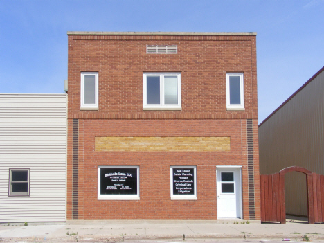 Law Office, Westbrook Minnesota, 2014