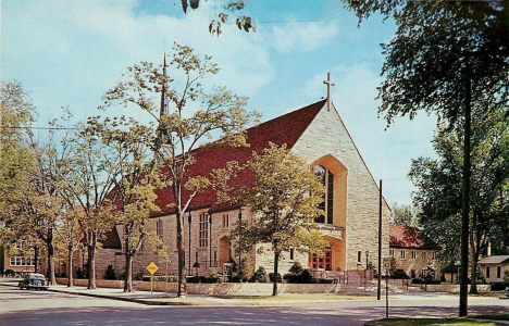 Cathedral of the Sacred Heart, Winona Minnesota, 1960's