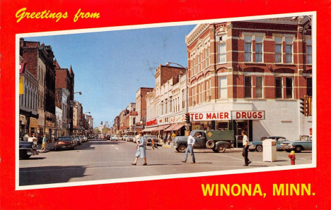 Greetings from Winona Minnesota, 1965
