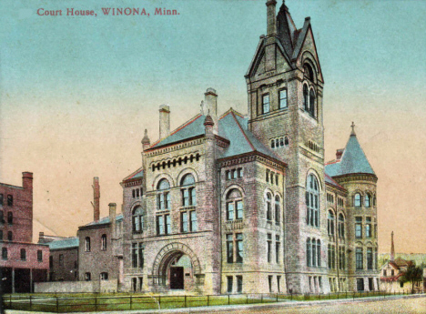Court House, Winona Minnesota, 1910