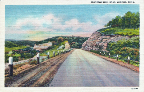 Stockton Hill Road, Winona Minnesota, 1936