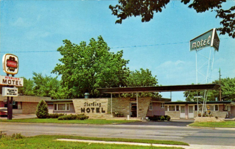 Sterling Motel, Winona Minnesota, 1968