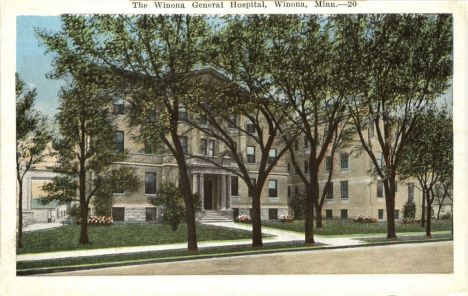 Winona General Hospital. Winona Minnesota, 1940's
