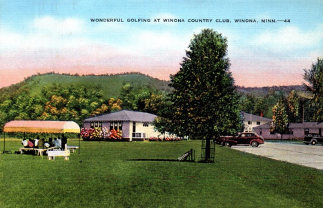 Winona Country Club, Winona Minnesota, 1940's