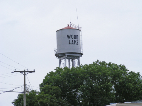 Water tower, Wood Lake Minnesota, 2011