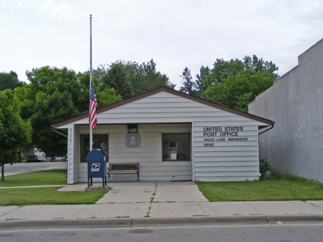 Post Office, Wood Lake Minnesota, 2011