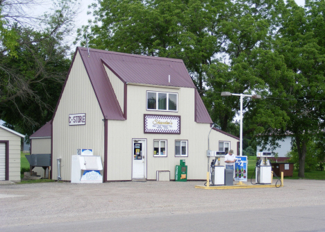 Gas station, Wood Lake Minnesota, 2011